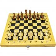 Шах и табла 39 см. бамбуков