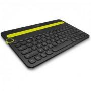 Клавиатура, Logitech Bluetooth Multi-Device Keyboard K480, Black - 920-006366