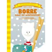 De Gestreepte Boekjes Groep 3 Januari - Borre gaat op wintersport