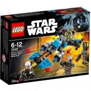 Set de constructie LEGO Star Wars Motocicleta de Viteza Bounty Hunter