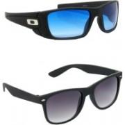 Hrinkar Sports Sunglasses(Clear, Grey)