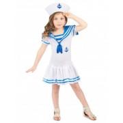 Vegaoo Matrose Kostüm für Mädchen