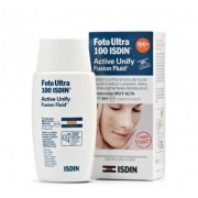 Isdin Active Unify Sin Color Fusion Fluid SPF 100+, 50 ml. -