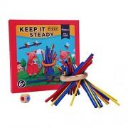 MiDeer Piggy Balance Stick Game Wooden Stacking Children's Desktop Games