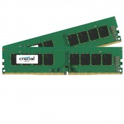 Crucial 16GB kit (2 x 8GB) DDR4, 2400 MHz CT2K8G4DFS824A