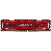 Memorias RAM 8192MB DDR4 2400 1X288 UDIMM CL16 1.2V SR BALLISTIX SPORT