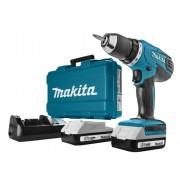 Makita DF457DWE 18v Boor-/schroefmachine 18v 1.3Ah Li-ion
