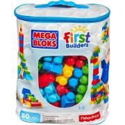 Set piese de constructie pentru copii Mega Bloks First Builders, 80 piese, Mattel