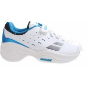 Babolat tennisschoenen Pulsion jongens wit/blauw maat 28