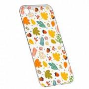 Husa Silicon Transparent Slim Toamna 108 Apple iPhone 6 6S