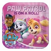 Farfuri patrate Paw Patrol 23 cm