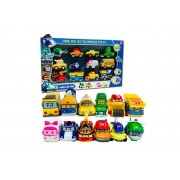 Suzhou Dashijie Electronics Co., Ltd Cartoon Robocar Toys Set