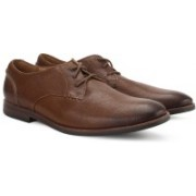 Clarks Broyd Walk Tan Leather Lace Up For Men(Tan)