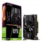 VGA EVGA GTX 1660 Ti XC Black GAMING, nVidia GeForce GTX 1660 Ti, 6GB, do 1770MHz, 36mj (06G-P4-1261-KR)
