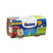 Humana Italia Spa Humana Omogeneizzato Biologico Mela 2x100 g