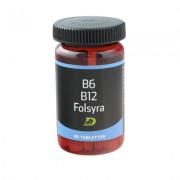 Folsyra, B6, B12