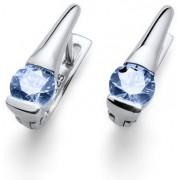 Oliver Weber Stříbrné náušnice s modrými krystaly Beach Tender 62068 BLU