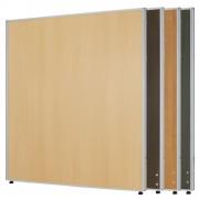 木目調ローパーテーション H1200×W1000mm パーティション 間仕切り ダークグレー パーテーション 木目調 オフィス家具