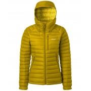 Rab Microlight Alpine Womens - Jacka - Dark Sulphur - 12