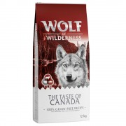 2x12kg Wolf of Wilderness The Taste Of Canada