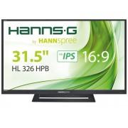 Monitor HANNS.G 31,5P FHD LED (16:9) 5ms VGA/HDMI/Coluna - HL326HPB