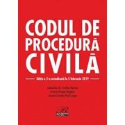 Codul de procedura civila. Editia a 5-a actualizata la 5 februarie 2019/Dragos Bogdan, Evelina Oprina, Cristian Paul Lospa