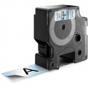 Dymo Standard D1 Tejp 24mm Svart på transparent