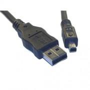 Cable USB / Mini USB 4 pôles pour KODAK EASYSHARE LS240, LS420, LS433, LS 443, LS 633, LS743, LS753, LS755 LS 240 420 443 633 743 753 755 etc.