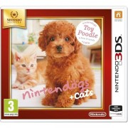 Nintendogs + Cats Toy Poodle & New Friends Edition 3DS Game (selec
