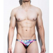 Mategear Rang Se Special Fabrics Series Abstract Ultra Sexy Maximizer Thong Underwear Multicolor 1091201