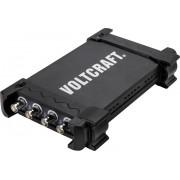 Osciloscop USB cu analizor de spectru, 200 MHz, 4 canale, 16 kpts, Voltcraft DSO-3204