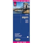 Wegenkaart - landkaart Hongarije - Ungarn | Reise Know-How Verlag