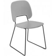 DOMITALIA Srl Jídelní židle jídelní židle traffic-t šedá