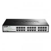 Switch D-Link DGS-1024D 24 p 10 / 100 / 1000 Mbps Negru