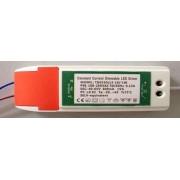 Dimmerelhető, fényerőszabályozható driver led panelhoz 13W-18W, 300mA, 40-65V. Life Light led.