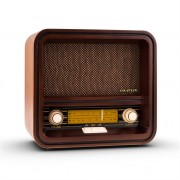 Auna Belle Epoque 1901 Vintage Retro Radio AM FM USB MP3