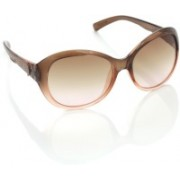Provogue Over-sized Sunglasses(Brown)