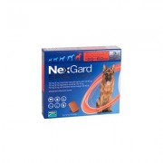 Nexgard Spectra Tab Xlarge Dog 66-132 Lbs Red 3 Pack