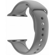 Wotchi Silikonový řemínek pro Apple Watch - Šedý 38/40 mm - S/M