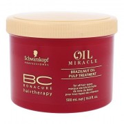 Schwarzkopf BC Bonacure Oil Miracle Brazilnut Oil vyživující maska pro všechny typy vlasů 500 ml pro ženy