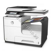 Принтер HP PageWide 377dw mfp, p/n J9V80B - HP цветен мастиленоструен принтер, копир, скенер и факс