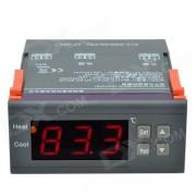 """""""CHEERLINK MH1210B 1.7"""""""" pantalla inteligente controlador de temperatura digital con alarma - Negro + Naranja"""""""