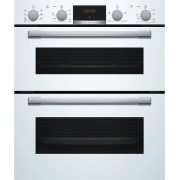Bosch Serie 4 NBS533BW0B Double Built Under Electric Oven - White