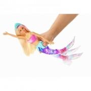 Papusa Barbie Dreamtopia sirena cu lumini si sunete
