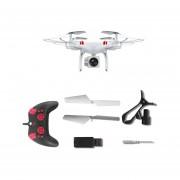 Lente Gran Angular De La Cámara 0.3MP Quadcopter RC 2,4 Ghz WiFi Drone FPV Helicóptero Blanco