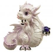 Figurine dragon des glaces : Rêve Mystique