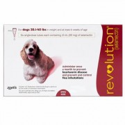 Revolution (Red) Medium Dogs 20.1-40 lbs 6 Doses