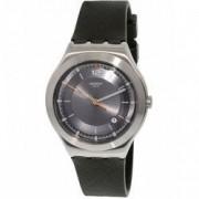 Ceas unisex Swatch Tic-verde YWS425 argintiu Rubber Swiss Quartz YWS425