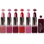 Medin paris matte me lipstick cosmetics makeup combo set of 6