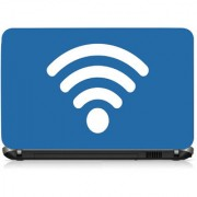 VI Collections Wifi Signal Printed Vinyl Laptop Decal 15.5